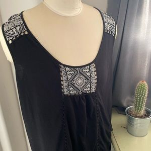 Maurices Womens Causal Tank Top with Detail